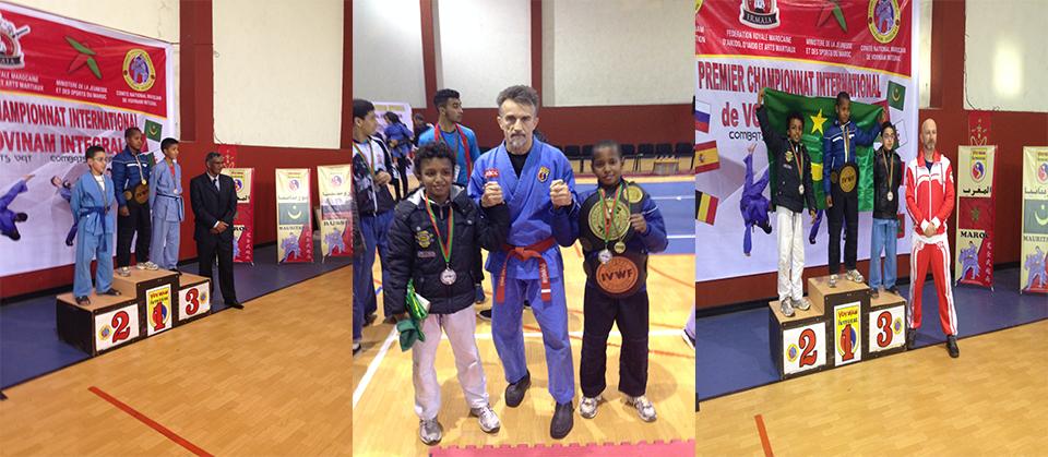 Nos Champions En Vovinam Integral MMA